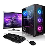 Megaport Super Méga Pack Raystorm - Unité Centrale PC Gamer Complet Intel Core i7-10700F • Ecran...