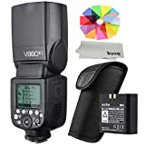 Godox V860II-O Flash Speedlite E-TTL HSS 1/8000 s 2,4 GHz GN60 Batterie Li-Ion pour Appareil Photo...