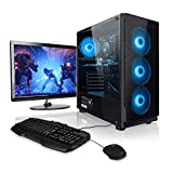 Megaport Super Méga Pack Guardian - Unité Centrale PC Gamer Complet • Ecran LED 24' • Clavier...