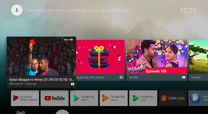 Box android TV 4K