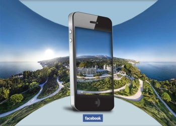 Photo 360°: l'application Facebook.