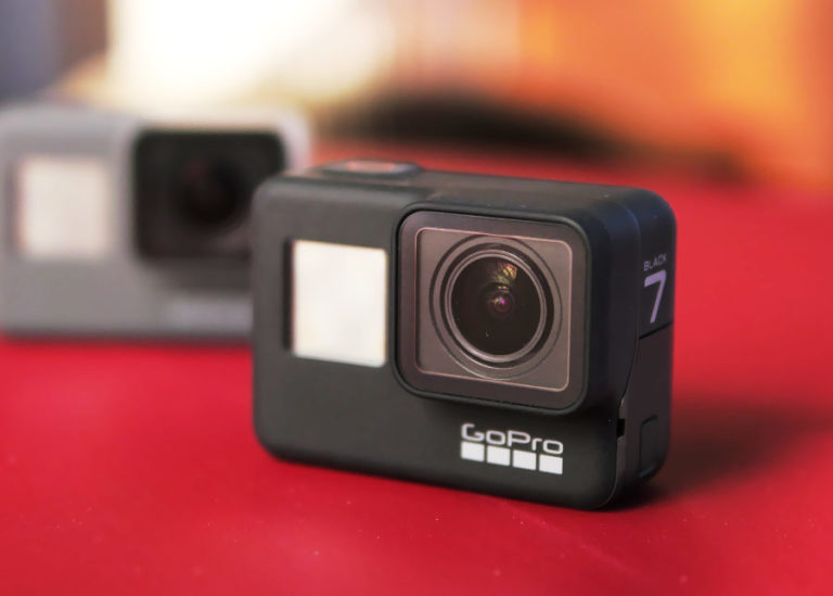 Test GoPro HERO 7 Black.