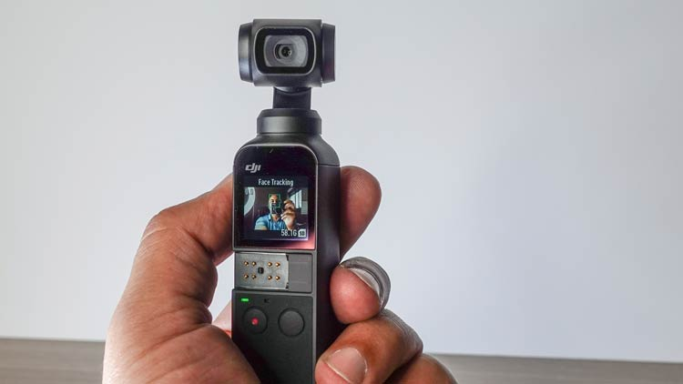DJI Osmo pocket Facetrack