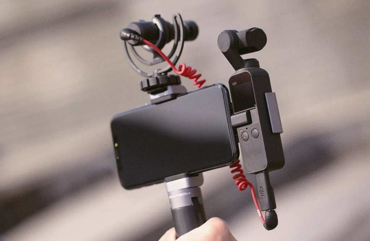 Support DJI Osmo Pocket