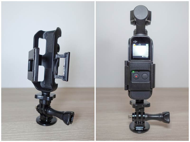 DJI Osmo pocket support photo