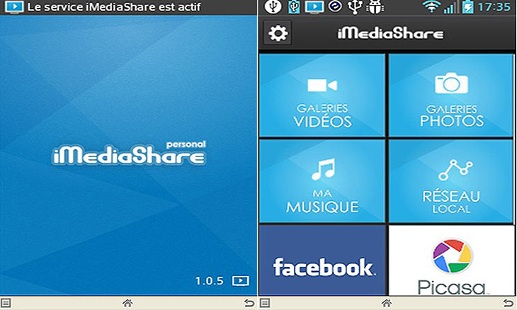Application pour tablette et portable Android.