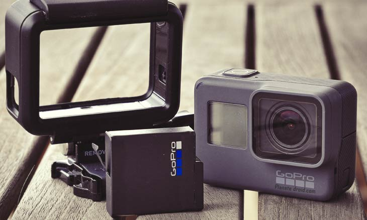 Accessoires indispensables Gopro Hero5 black.