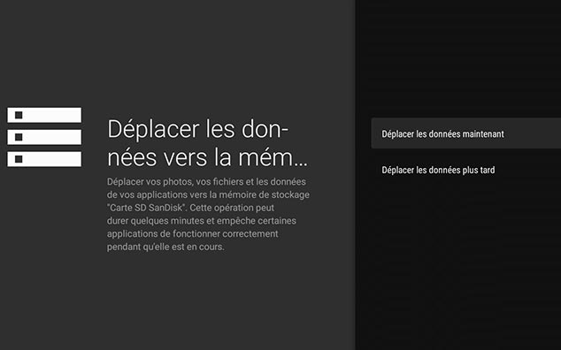 augmenter la mémoire interne d'une Box Android TV